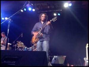 Guitarist, Brian Jordan.