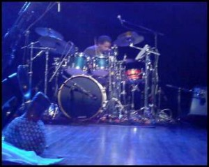 John Staten on drums.