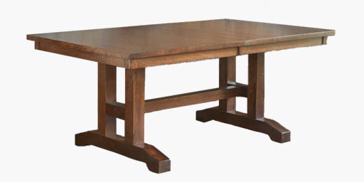 Creative beasts williams sonoma for Mission style dining table