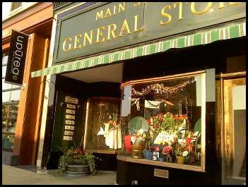 The Main Street General Store. So cute I almost puked.